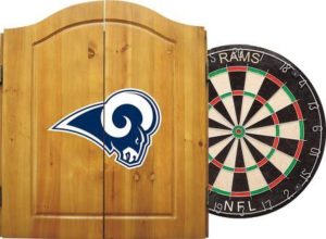 Imperial Officially Licensed NFL Merchandise Dart Cabinet Set