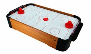 C&H Solutions Portable Mini Air Hockey Table Classic Game