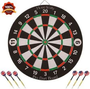 The HoveBeaty Double Sided Bristle Dartboard